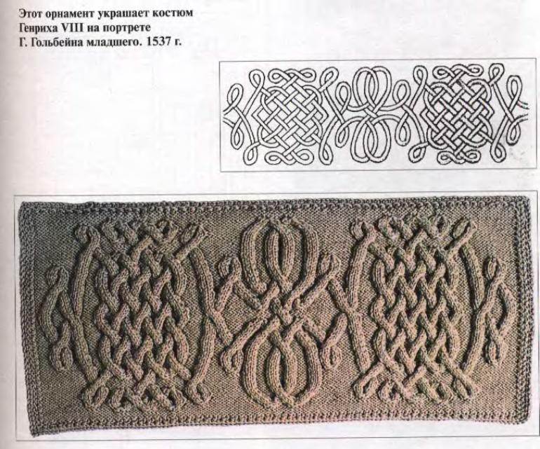 Вязание спицами ирландские узоры со схемами 9
