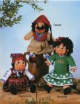вязание игрушек в народных костюмах